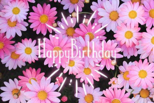 『HAPPY BIRTHDAY』のフリー写真画像[ID:9970]