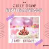GIRLY DROPのLINEスタンプがついにリリース♡誕生日に使える日本で一番可愛い写真スタンプが40種類入ってるよ!!