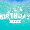 【可愛い夏のお誕生日おめでとう画像まとめ】海・南国・リゾート編[無料]